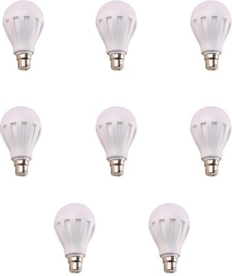 9W 460 Lumens White Eco LED Bulbs (Pack Of 8)