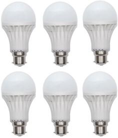 15W-Plastic-450-Lumens-White-LED-Bulb-(Pack-Of-6)