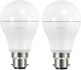 9.5W B22 Led Bulb (Warm White, Set Of 2)