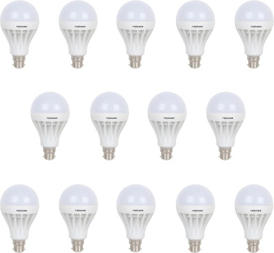 9W White LED Bulbs (Pack Of 14)