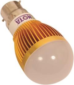Led Lightings 3W 180 Lumens Yellow LED Bulb