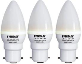 0.5 W LED Bulb B22 White (pack of 3)