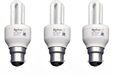 8-W-3U-Lamp-B22-Cap-CFL-Bulb-(Cool-Day-Light,-Pack-of-3)