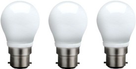 3-W-B22-QA0301-LED-Bulb-(White,-Pack-of-3)