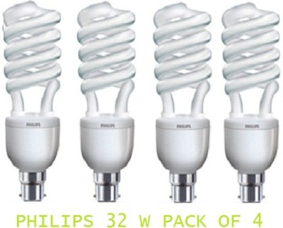 Tornado-B22-32-W-CFL-Bulb-(Pack-of-4)