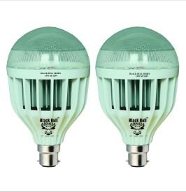 15W B22 LED Bulb (White, Set of 2)