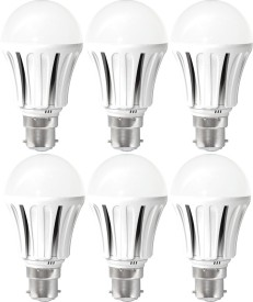 5W E27/B22 LED Bulb (Cool White) [Pack of 6]
