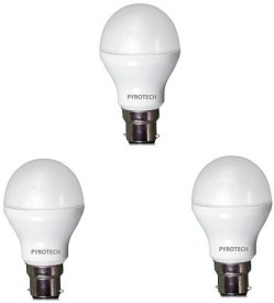 3W Cool White LED Bulb (Pack of 3)