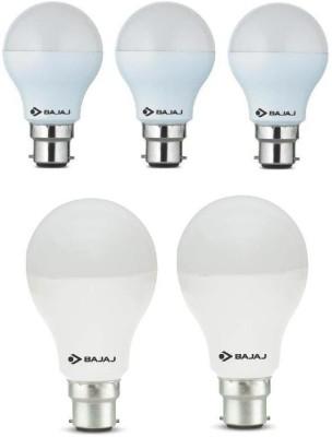 7 W, 12 W LED Bulb B22 White (pack of 5)
