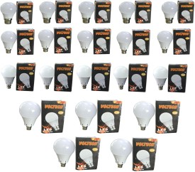 Engineerings 12 W LED Bulb B22 White (pack of 20)