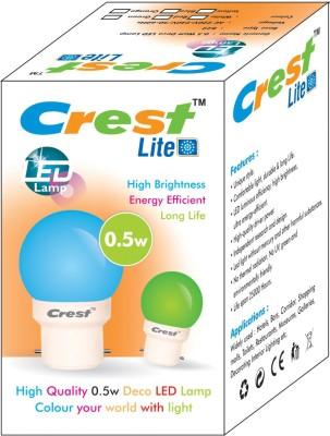 0.5W-B22-LED-Bulb-(Red,-Blue,-Pack-of-2)