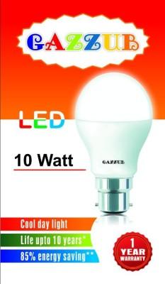 Gazzub-10W-B22-LED-Bulb-(White)