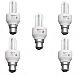 Rashmi 5 W CFL 2U Lamp B22 Cap Bulb