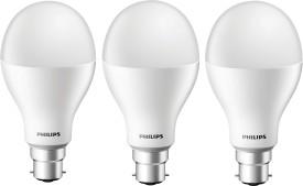17 W LED Steller Bright Bulb (White, Pack of 3)