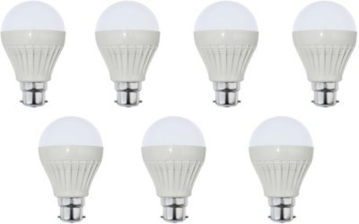 9-W-LED-Bulb-B22-White-(pack-of-7)