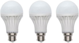 12 W LED Bulb (White, Pack of 10)