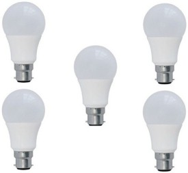 3-W-B22-PA-LED-Bulb-(Yellow,-Pack-of-5)
