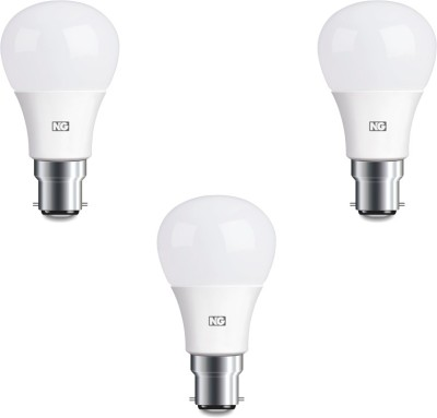 8W Cool White LED Bulbs (Pack Of 3)