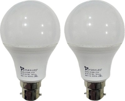 7 W B22 PAG LED Bulb (White, Plastic, pack of 2)