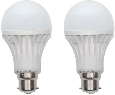 Harit-Energy-5W-B22-LED-Bulb-(White,-Set-of-2)