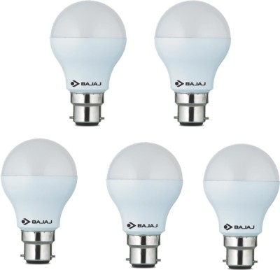 5W White LED Bulb(Pack Of 5)