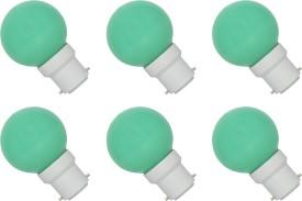 0.5W-B22-LED-Bulb-(Green,-Set-of-6)