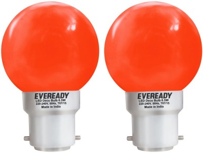 0.5W Deco UP LED Bulb (Red, Pack of 2)