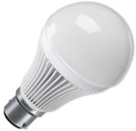 9 W B22 LED Bulb (White, Pack of 2)