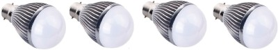 3W-B22-Aluminium-Body-White-LED-Bulb-(Pack-of-4)-