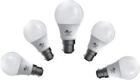 7W 630 lumens White LED Bulb (Pack Of 5)