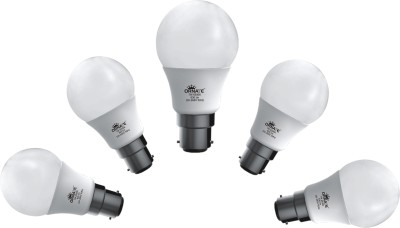 7W 630 lumens White LED Bulb (Pack Of 5)