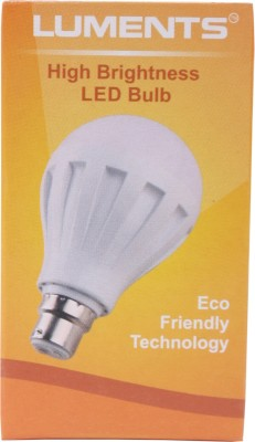 Luments-5W-460-Lumens-White-Eco-LED-Bulbs-(Pack-Of-6)