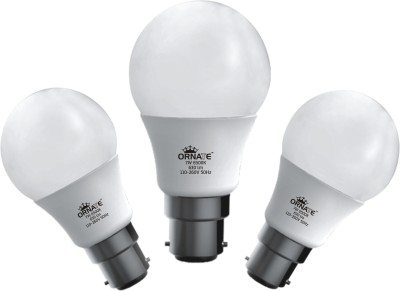 7W 630 lumens White LED Bulb (Pack Of 3)