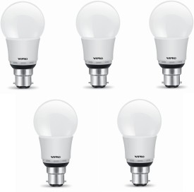 9 W N90001 LED Bulb B22 White (pack of 5)