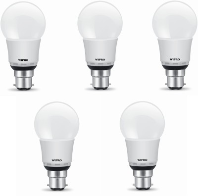 9W White Led Bulb (Pack of 5)