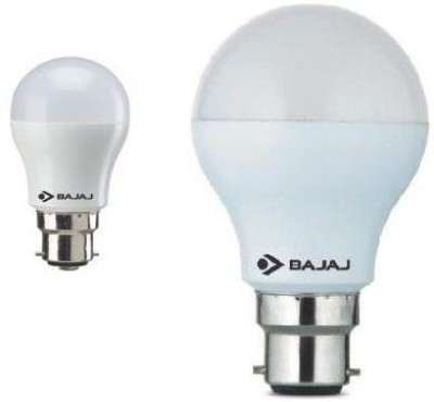 3W And 7W B22 LED Bulb (White, Pack of 2)