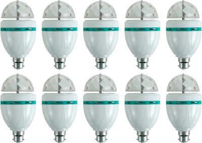 Ace-3-W-LED-Bulb-(Multicolor,-Pack-of-10)