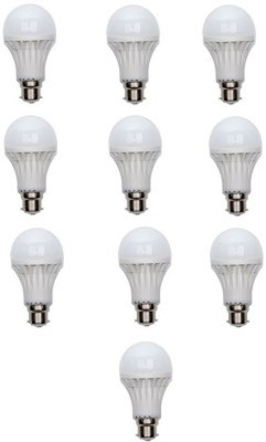 9-W-LED-Bulb-B22-White-(pack-of-10)