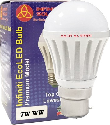 Eco-7W-B22-LED-Bulb-(Warm-White,-Pack-of-3)