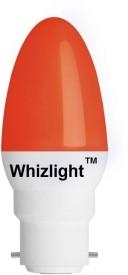 LEDZ Ping Pong 0.5 Watt Night Candle LED Bulb (Red)