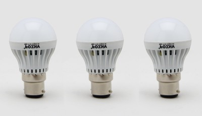 3W LED Bulbs (White, Pack of 3)