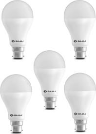 15W LED CDL B22 HPF Bulb (White, Pack of 5)
