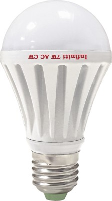 Eco-E27-7W-LED-Bulb-(Cool-White,-Pack-of-3)-