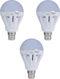 India-7W-LED-Bulb-(White,-Pack-of-3)