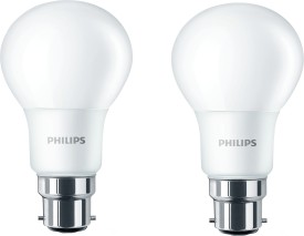 Philips B22 6W LED Bulb (Cool Day Light, Pack of 2)