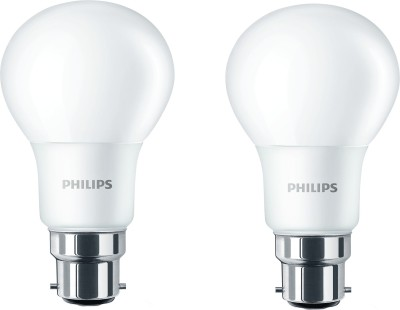 B22 6W LED Bulb (Cool Day Light, Pack of 2)