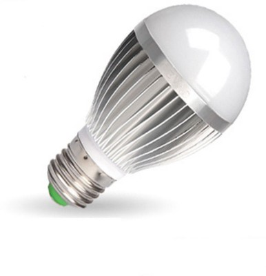 5W E27 Aluminium Body White LED Bulb