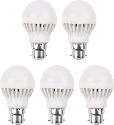 5W-LED-Bulb-(White,-Pack-of-5)