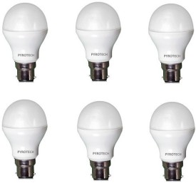 3W Cool White LED Bulb (Pack of 6)