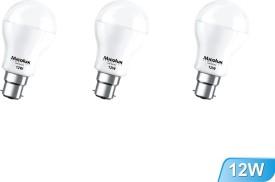 12W-B22-White-Led-Bulb-(Set-Of-3)